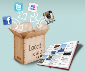 Loccit Puts All Your Social Networking Activities in Print