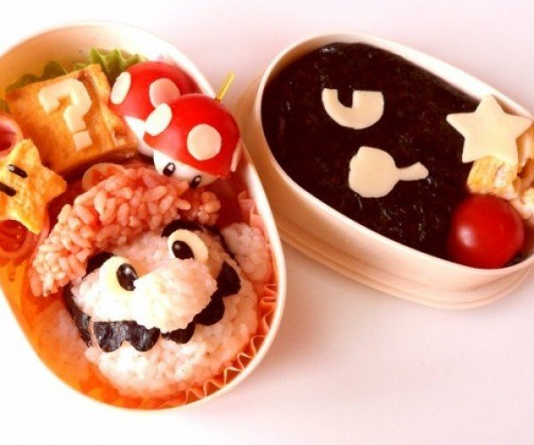 Super Mario Bento Box Packs a Super Lunch