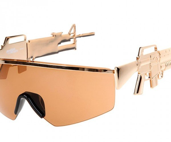 Assault Rifle Sunglasses Let You Shoot a Deadly Glance at Your Target