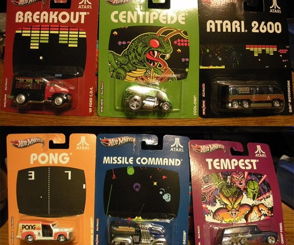 Atari 2600 Hot Wheels: Car-tridges