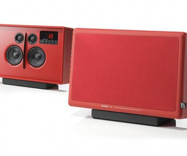 Audio Pro LV1 Wireless Speakers: Leather-Clad Audio Goodness