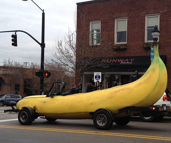 Banana Car: for When You Need to Split