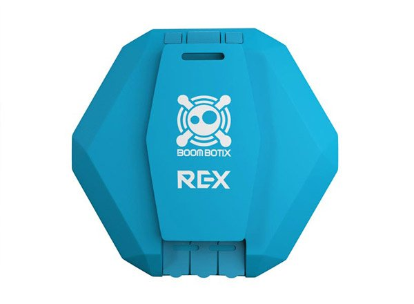 boombot rex bluetooth speaker back photo