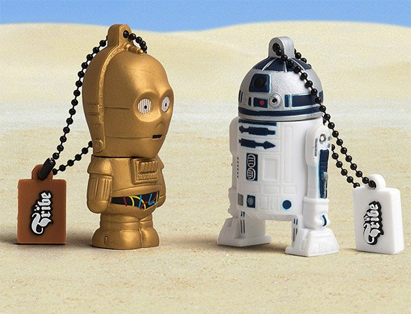 c 3po r2 d2 flash drives tribe