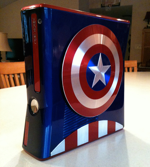 captain america xbox 360 mod by zim props zachariah cruse