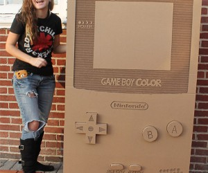 Cardboard Nintendo Game Boy Color Has One Color: Cardboard