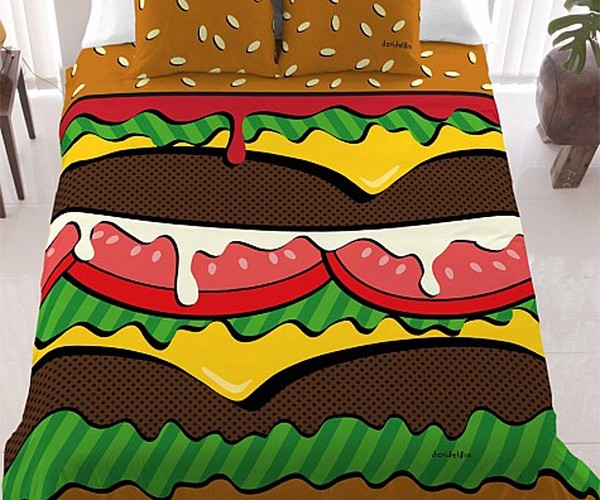 Cheeseburger Bedding: Hold the Pillows, Hold the Lettuce