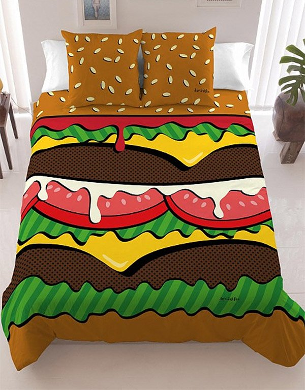 cheeseburger_bed