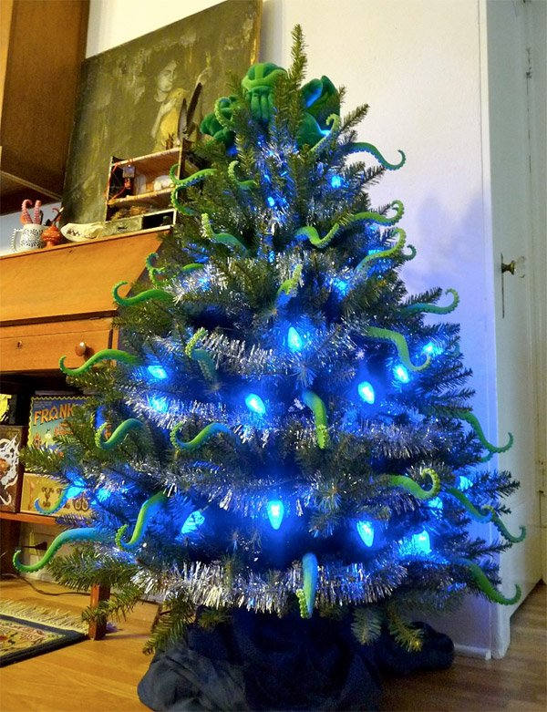 cthulhu christmas tree