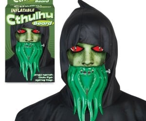 Cthulhu Beard Perfect for Decembeard in R'lyeh
