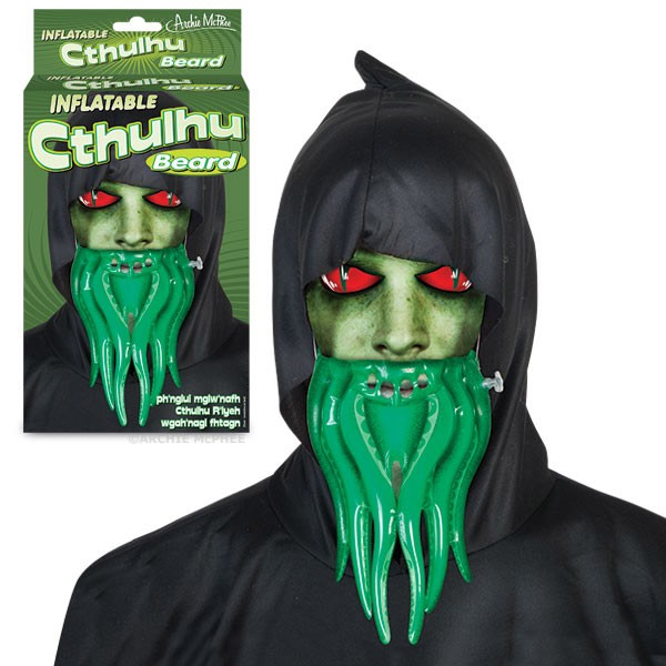 cthulhu inflatable beard