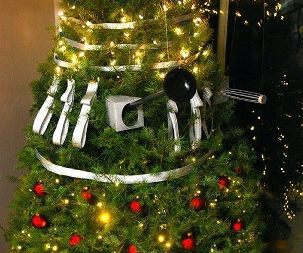Deck the Halls with a Dalek Christmas Tree