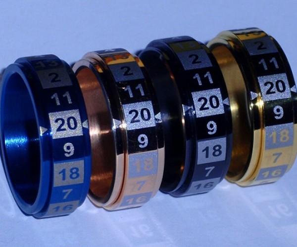 Dice Rings: +10 Portability