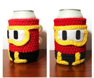 Dig Dug Can Cozy: Pump it up!