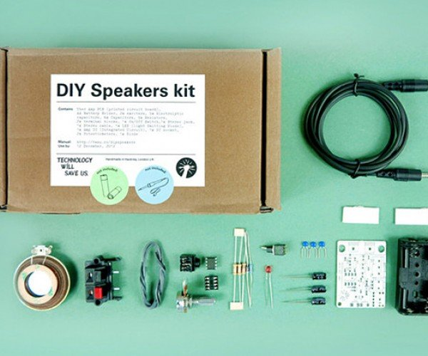 DIY Speakers Kit: It's the Tinkering that Counts