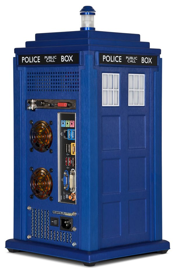Official Doctor Who Tardis Pc Intel On The Inside Technabob