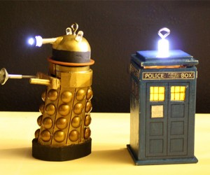 DIY Doctor Who Ornaments for Crafty Time Lords and Ladies