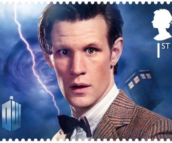 Doctor Who Stamps: Send Your Mail to Another Time or Dimension