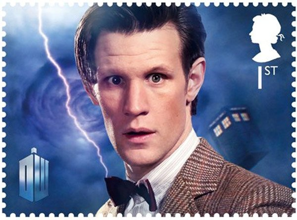 doctor who stamp 11