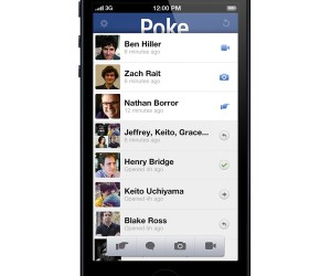 Facebook Poke Mobile: This Message Will Self-Destruct in 5 Seconds