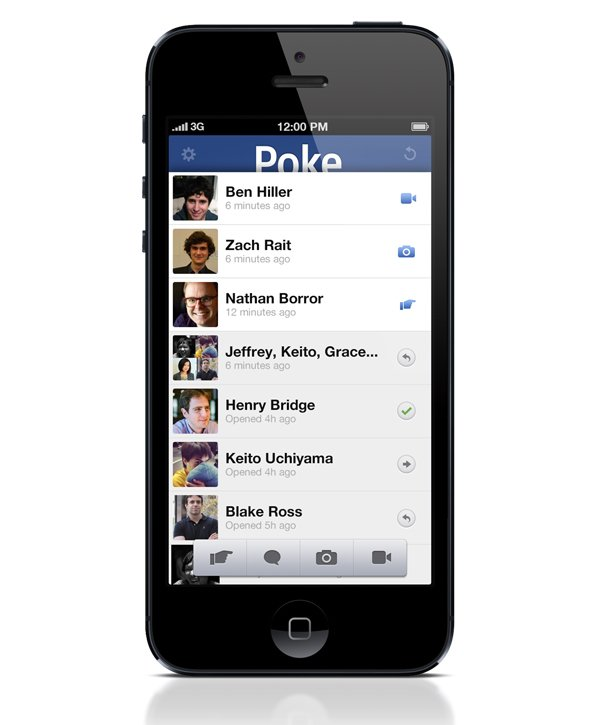 facebook poke app photo