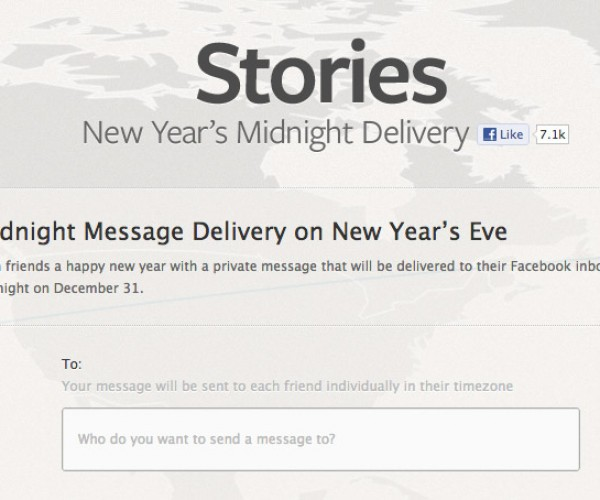 Facebook's Midnight Message Delivery Lets You Usher in a Spammy New Year