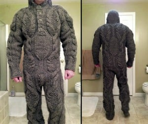 Full Body Sweater Looks Like Body Armor