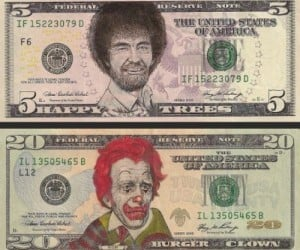 Dollar Bill Art: Defacing Currency for Our Amusement