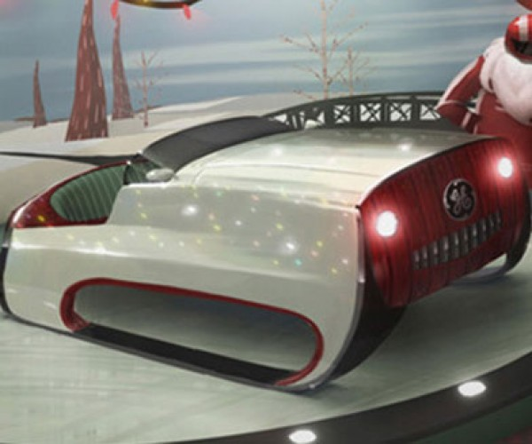 GE Scientists Unveil High-Tech Sleigh for Santa