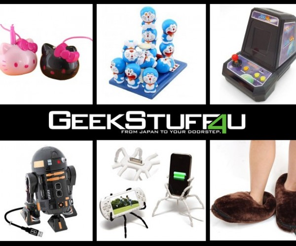 GeekStuff4U Offers Free Holiday Shipping from Japan!