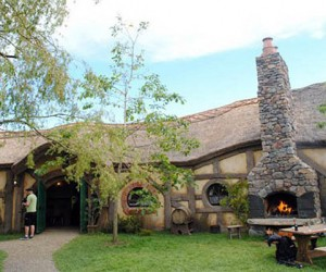 The Green Dragon Pub is a Hobbit Heaven
