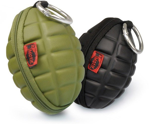 Hand Grenade Key and Coin Cases Make an Explosive Fashion Statement