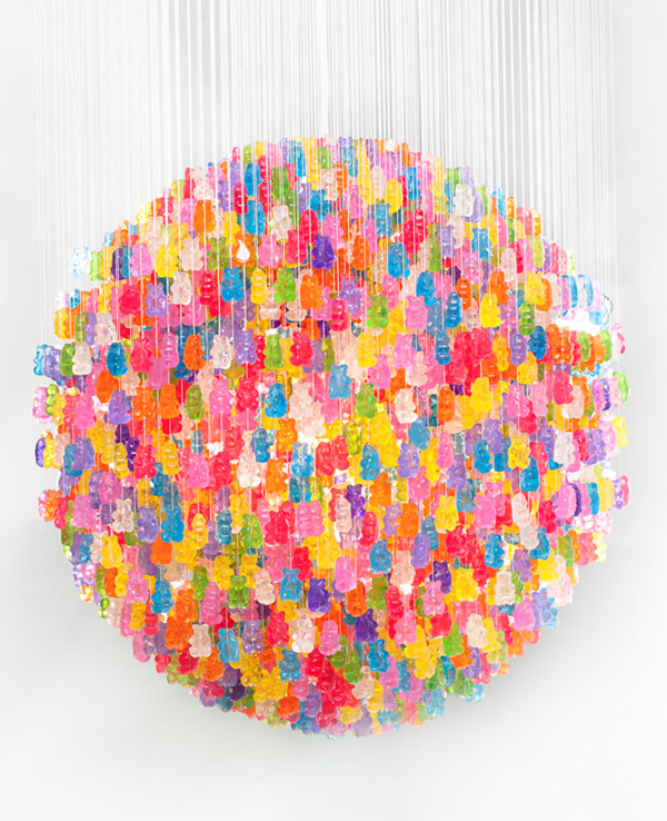 gummi bear chandelier 1