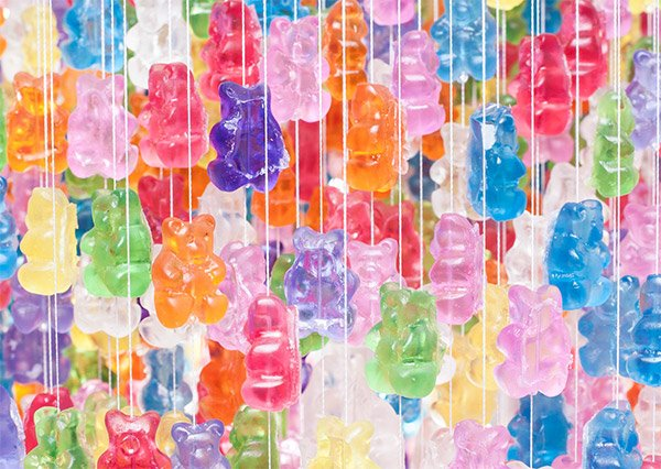gummi bear chandelier 2