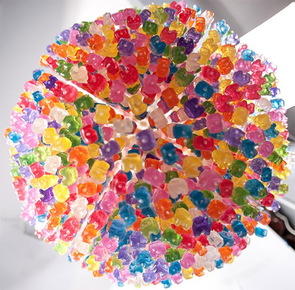 gummi bear chandelier 3