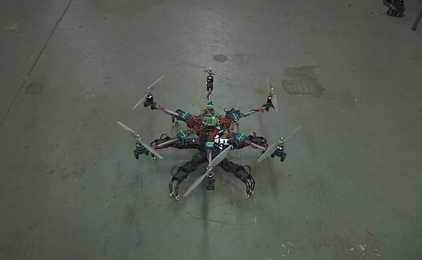 hexapod hexacopter by mad lab industries