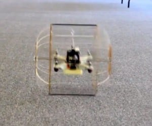 HyTAQ Robot Goes from Air to Ground and Back in a Split-Second