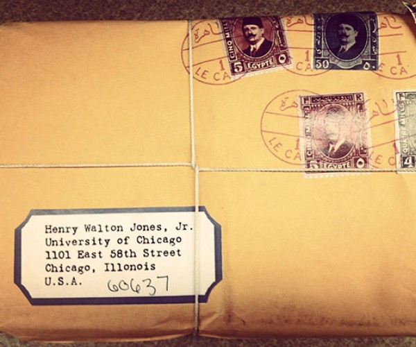 Indiana Jones Gets Mail at the University of Chicago
