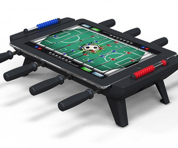 iPad Foosball Table: He Shoots, He Scores