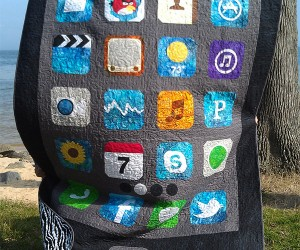 iPhone Quilt: Too Big for My Pocket, Too Small for My Bed
