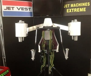 Jet Vest Flying Belt Aims to Fly High and Long
