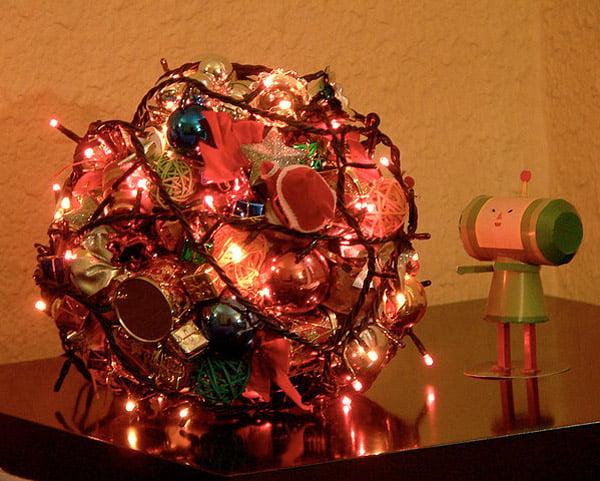 katamari christmas tree