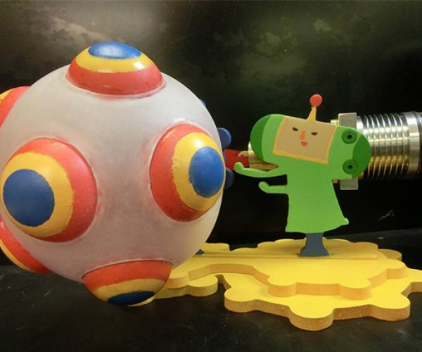Katamari Stirling Engine: That's How We Roll