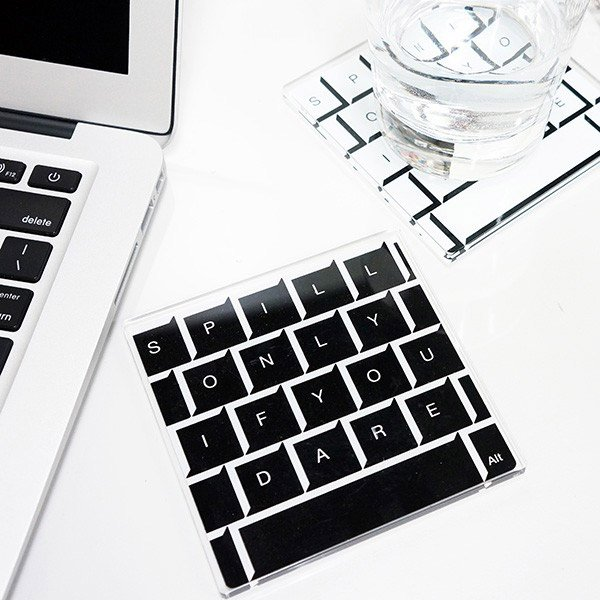 keyboard coasters 1