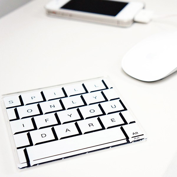 keyboard coasters 2