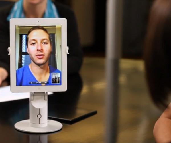 Kubi Movable Robotic Tablet Stand: Teleneckesis