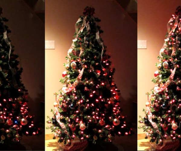 Christmas Tree with Individually-Controlled LEDs: OCD Lightsystem