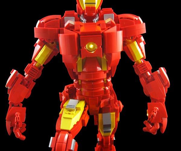 LEGO Iron Man Mk. VII Concept: Brick Man