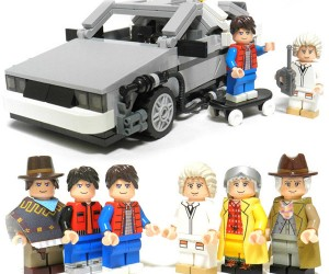 Great Scott! LEGO Back to the Future Set Gets Official