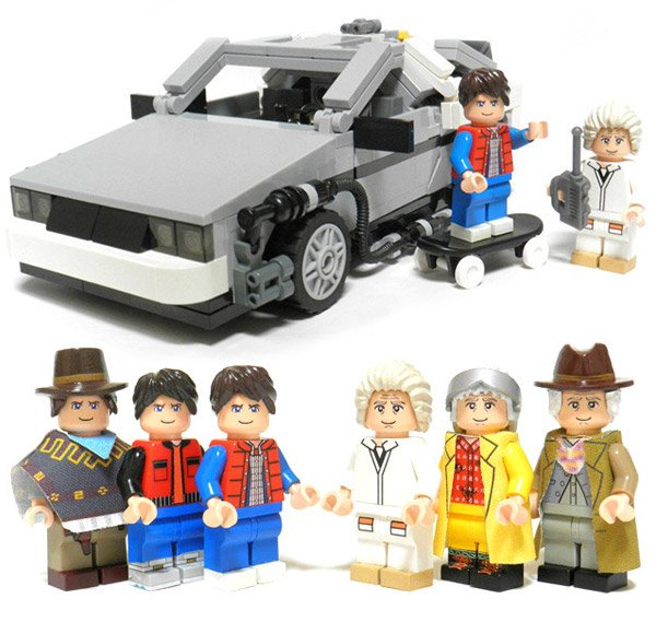 Great Scott Lego Back To The Future Set Gets Official